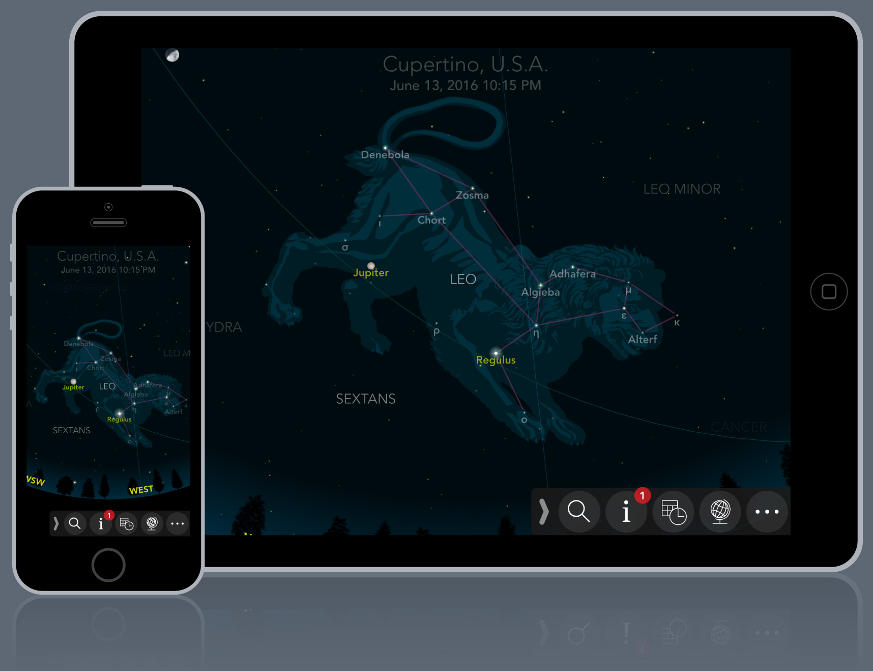 Ios Sky Map Classic Sky Map for iOS