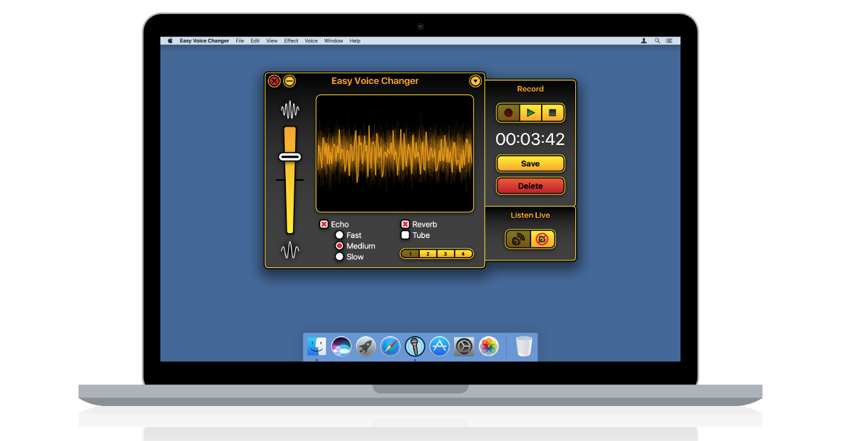 voice changer for macintosh
